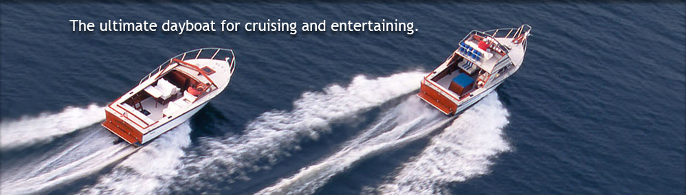 The ultimate dayboat for cruising and entertaining